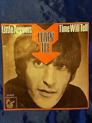 Leapy Lee    Little Arrows / Time will tell  Hansa  14126 AT vinyl single