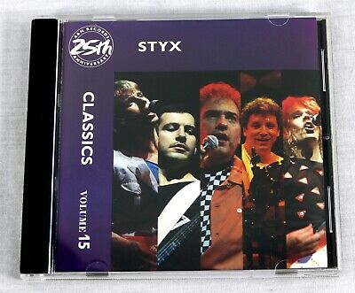 Styx 1987 Classics Vol.15 Compilación CD Arena Música Rock Cd2513 Mt /NM