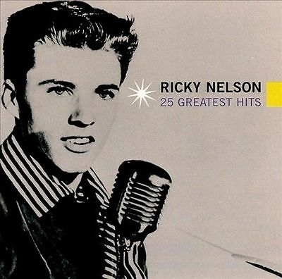 RICKY NELSON 25 Greatest Hits CD BRAND NEW
