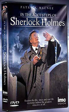 In the Footsteps of Sherlock Holmes - Patrick Macnee [DVD], DVD, New, FREE & Fas
