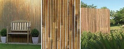 Natural Bamboo Slat Garden Screening Fencing Privacy Fence Panel Screen Roll