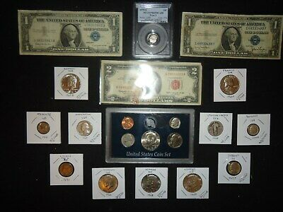U.s  Coins, Silver,1979S Pcgs 10C,  1979 U.s Coin Set, Currency & More (Abc4)