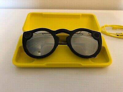 Snap Inc. Snapchat Spectacles Version 2 Glasses With Mirrored And Black Lenses