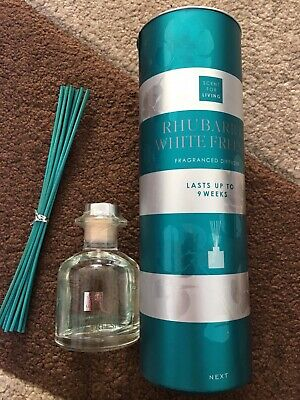 BRAND NEW NEXT RHUBARB AND WHITE FREESIA FRAGRANCED REED DIFFUSER. 100ml.