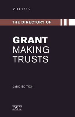The Directory of Grant Making Trusts 2012-2013, Traynor, Tom, Good Condition Boo