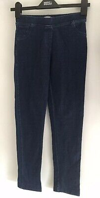 Girls M&S Blue Denim Jeggings - Age 10 11 Years Indigo collection