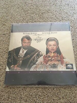 Anne Of The Thousand Days Letterbox Laserdisc