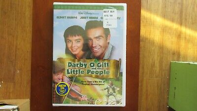 BRAND NEW!! Darby OGill and the Little People (DVD, 2004) FREE 1ST CLASS SHIPPIN