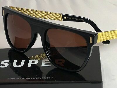 9ae78c33a1c RETROSUPERFUTURE FLAT TOP Francis Sciuro Gold Sunglasses SUPER S0V ...