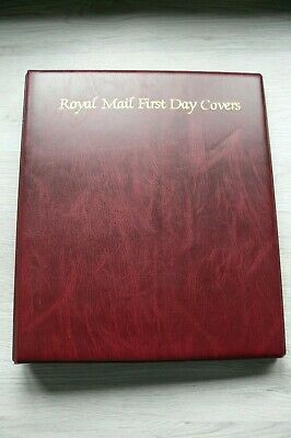 Royal Mail First Day Cover Album With 16 Empty Sleeves