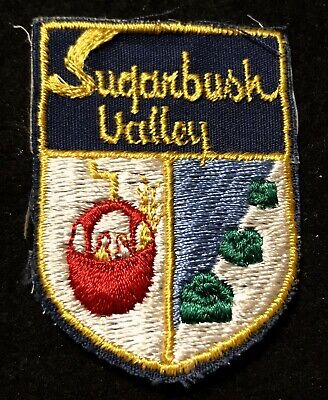 SUGARBUSH VALLEY Skiing Ski Patch VERMONT VT Resort Souvenir Travel Small Stain