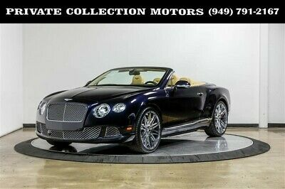 2013 Bentley Continental GT  2013 Bentley Continental GTC Convertible 2 Owner Clean Carfax MSRP $232,825