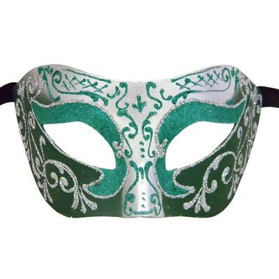 Purple and Silver Settecento Colombina Venetian Masquerade Mask