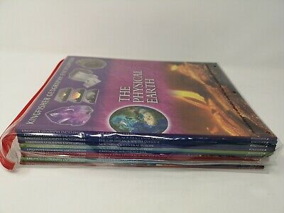 Kingfisher Geography Encyclopedia Set of 10 Books For 9 years+ Geography World
