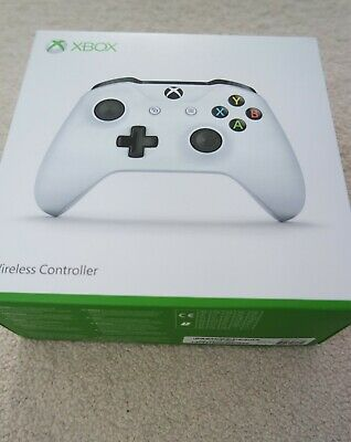 Official Microsoft Xbox One Wireless Controller - White - Brand New Sealed