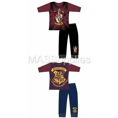 Girls Harry Potter Hogwarts Gryffindor Pyjamas Pjs Sleepwear 5-8 Years
