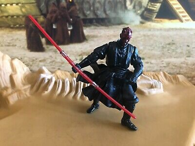 Action- & Spielfiguren Star Wars Movie Heroes Darth Maul 2001 Action Figure Hasbro Kenner 155