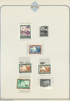Indonesia Specialized Album Page LOT #17 - SEE SCAN - $$$