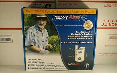 LogicMark Freedom Alert 35511 Personal Emergency Response - Fast Delivery