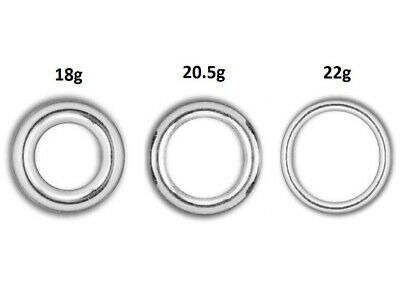 Wholesale Round Closed Jump Ring Sterling Silver, Pick Size, Gauge, Package Size