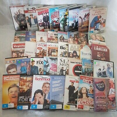 Comedy Movie Pack 39 x DVDs Men at Work,Waking Ned Devine,Three Amigos,Liar Liar