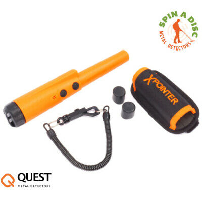 quest x pointer pinpointer for metal detecting