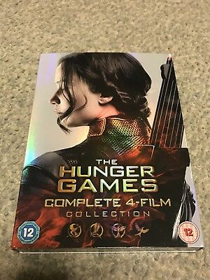 The Hunger Games: Complete 4-Film Collection - DVD. Brand New.