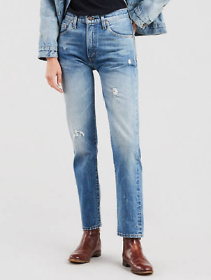 ce793ad2ca5 Levi's 505 Vintage Clothing 1967 Selvedge Jeans NWT Size 25 $278 392200003