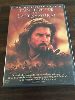 The Last Samurai (2 Disc Special Edition) Tom Cruise Ken Watanabe Billy Connolly