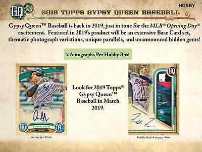 TORONTO BLUE JAYS 2019 Topps Gypsy Queen Baseball Full Case 10-Box Break #1