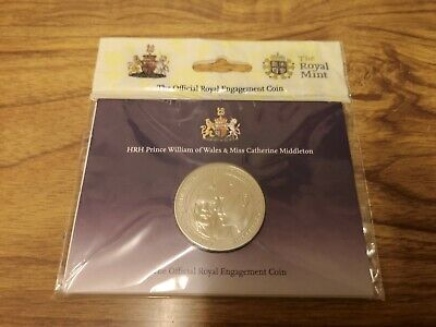 2011 UK five pound £5 William Catherine Wedding Brilliant Uncirculated coin