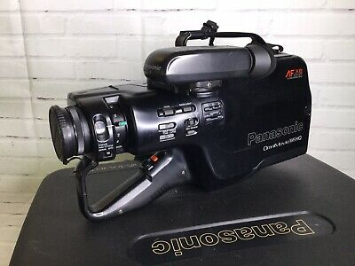 Panasonic Pv 510d Omnimovie Afx8 Vhs Hq Camcorder Case Accessories Untested 55 99 Picclick