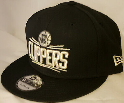0a1bcd5f4ba20 NWT NEW ERA Los Angeles CLIPPERS black 9FIFTY SNAPBACK cap hat basketball  nba