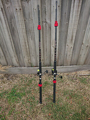 2   X    7' Juro Multiflex Rod & Daiwa Strikeforce 2500-B Reel
