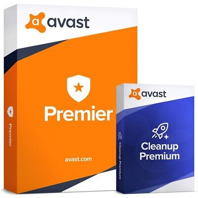 Avast Premier 2040 + Avast Cleanup 2043   5 PC   2019   21 Years   Fast Delivery