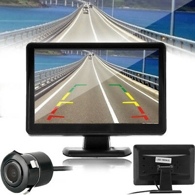 "4.3"" TFT LCD Digital Color Screen Car Backup Rearview Camera Night Vision System"