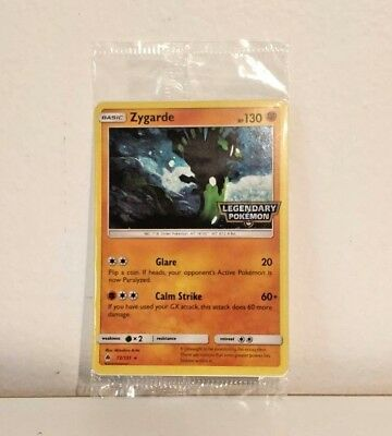 SEALED Zygarde Pokemon TCG Sun & Moon Forbidden Light Holo Promo 72/131