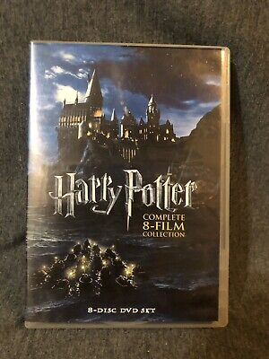 Harry Potter: Complete 8-Film Collection (DVD, 2011, 8-Disc Set) *Used*