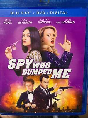 Spy Who Dumped Me Blu-Ray No DVD/Digital/Slip Like New FAST FREE Combine SHIP