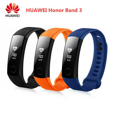🌟Huawei Honor Band 3 Smart Watch Pedometer Fitness Tracker Black Blue Orange🌟