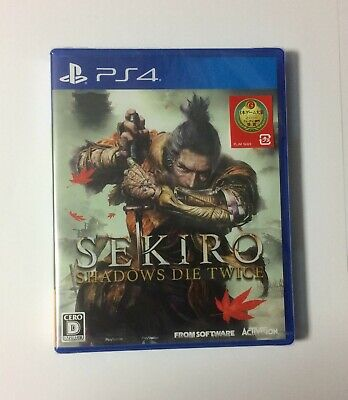 NEW PS4 SEKIRO: SHADOWS DIE TWICE JAPAN PlayStation 4 import Japanese game