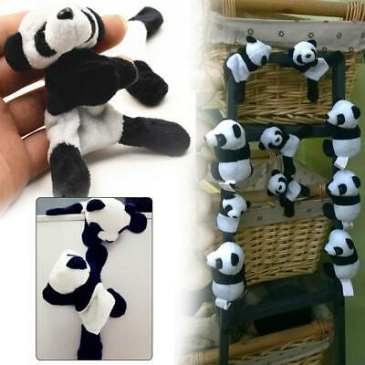 Cute Cartoon Panda Plush Fridge Magnet Refrigerator Sticker Home Kitchen Supply