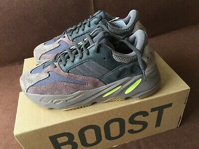 88594a3f7 EE9614 Adidas Kanye West Yeezy Boost 700 Mauve WaveRunner Grey US Size 10