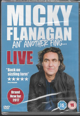 Micky Flanagan An' Another Fing...live Genuine R2 Dvd Stand Up New/Sealed