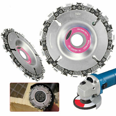 4 In Angle Grinder Disc Tooth Chain Saw for Carving Culpting Wood Plastic Tool