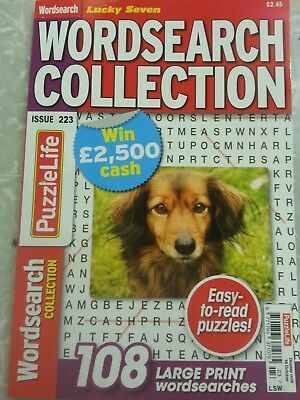 Lucky Seven Word search Collection puzzle Book issue 223 same day 1st class post