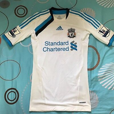 cde9be8c993 Liverpool Adidas Techfit Suarez 7 Player Issue 2011 12 New Bnwot Third Away  M