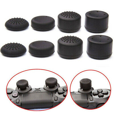 8X Silicone Replacement Key Cap Pad for PS4 Controller Gamepad Game Accessori Ux