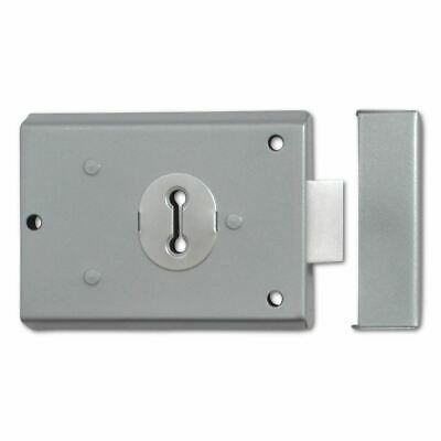 Asec AS10596 2 Lever London Fire Service Double Handed Rim Latch Door Lock FB1