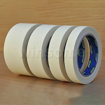 Masking Tape Paint Decorate Craft Label Low Tack Peel Multi-purpose DIY 50m Roll